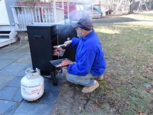 using-propane-smoker
